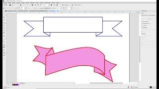 Como Fazer TRaçado em Faixa Corel Draw Tutorial thumbnail