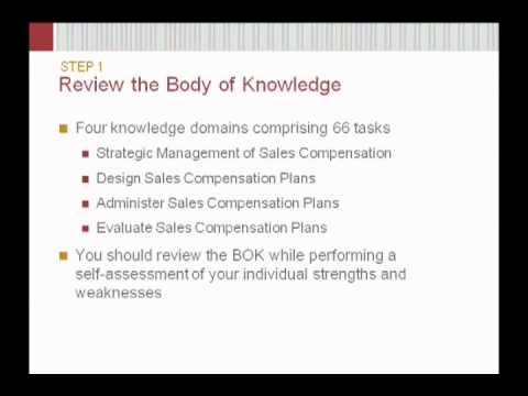 Certified Sales Compensation Professional™ - YouTube