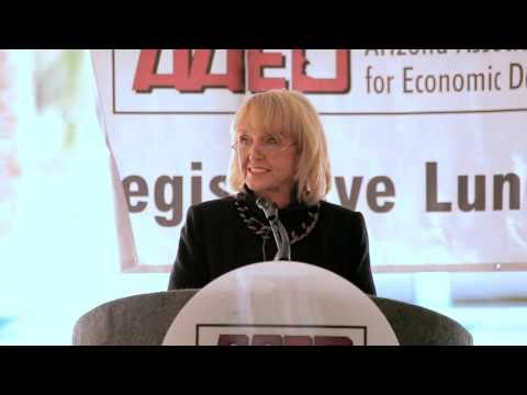 AZ Governor Jan Brewer Economic Development Day Proclamation