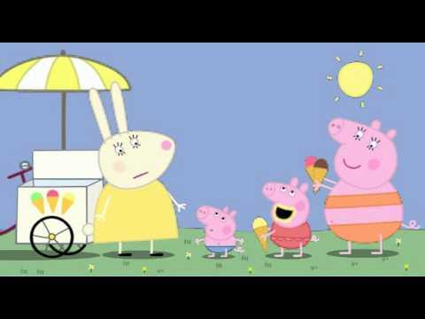 Peppa Pig (Свинка Пеппа) 35. Very Hot Day (мультфильм на английском)
