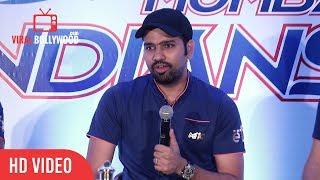 Rohit Sharma Full Speech  IPL 2017 Winner Mumbai Indians Press Conference