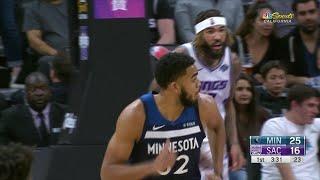 1st Quarter, One Box Video: Sacramento Kings vs. Minnesota Timberwolves