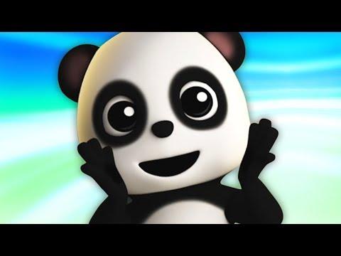 kalau-kau-suka-hati- -lagu-untuk-anak-anak- -jika-kamu-senang- -if-you're-happy- -baby-bao-panda