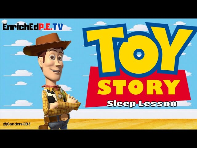 Toy Story Sleep Lesson by Christopher Sanders