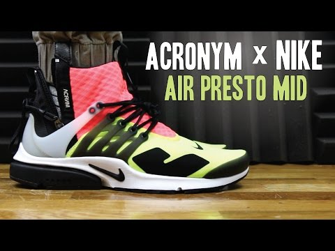 ACRONYM X NIKE AIR PRESTO MID VOLT REVIEW