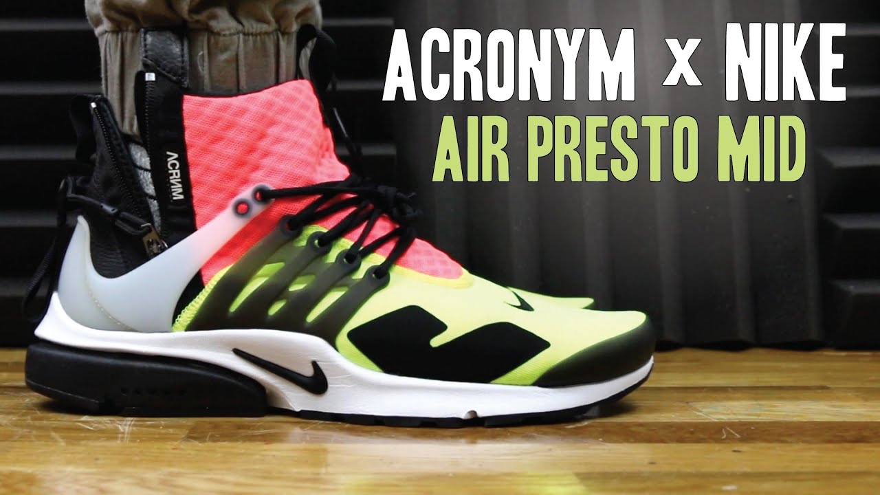 new product 8c8ab 20c2c ACRONYM X NIKE AIR PRESTO MID VOLT REVIEW