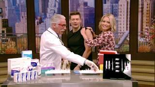 Kelly and Ryan Get Their Annual Flu Shot