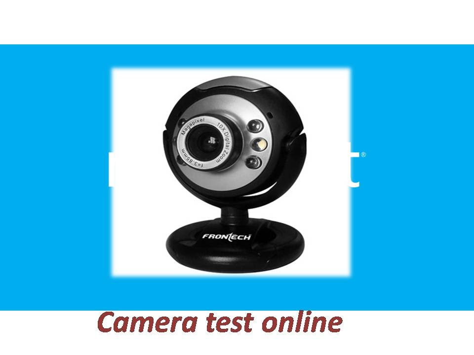how to test web camera online | how to check my camera problem