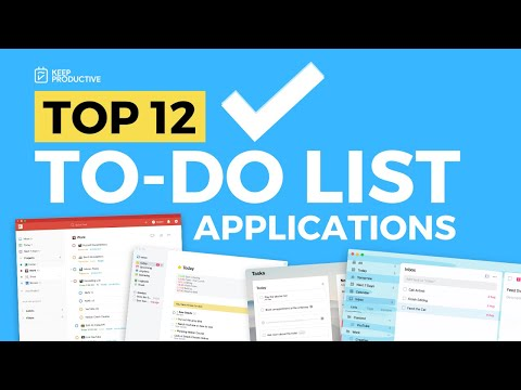 Top 12 To Do List Apps of 2020