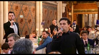 Incredible Les Mis Wedding Flash Mob - Waiters and Undercover Guests Perform One Day More!