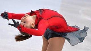 Юлия Липницкая олимпийская чемпионка дает интервью