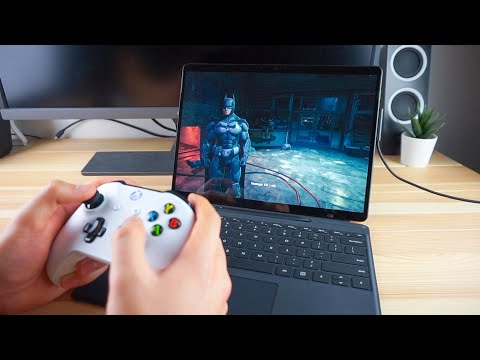 Gaming On The Surface Pro X!