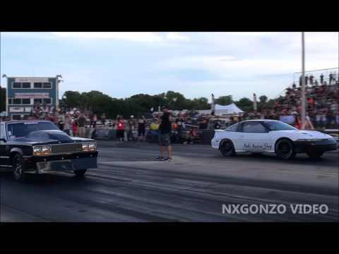 Black Betty VS The Thomas Racing DSM @ Outlaw Armageddon