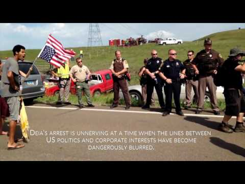 Award winning filmmaker journalist Deia Schlosberg arrested exercising First Amendment