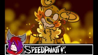 - Springtrap🐇 - [FNAF3/Speedpaint]