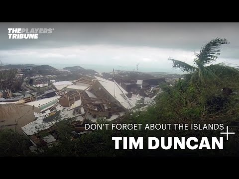 A Close Up Look at Tim Duncan's Relief Efforts in the US Virgin Islands