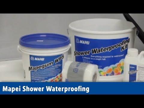 Mapei Shower Waterproofing | Screwfix