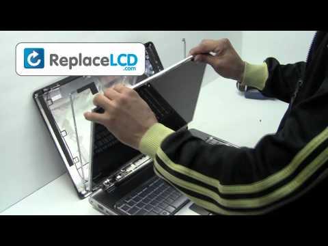 HP Compaq LCD Screen Replacement Guide DV7 DV6 - Replace Fix Repair Install Laptop
