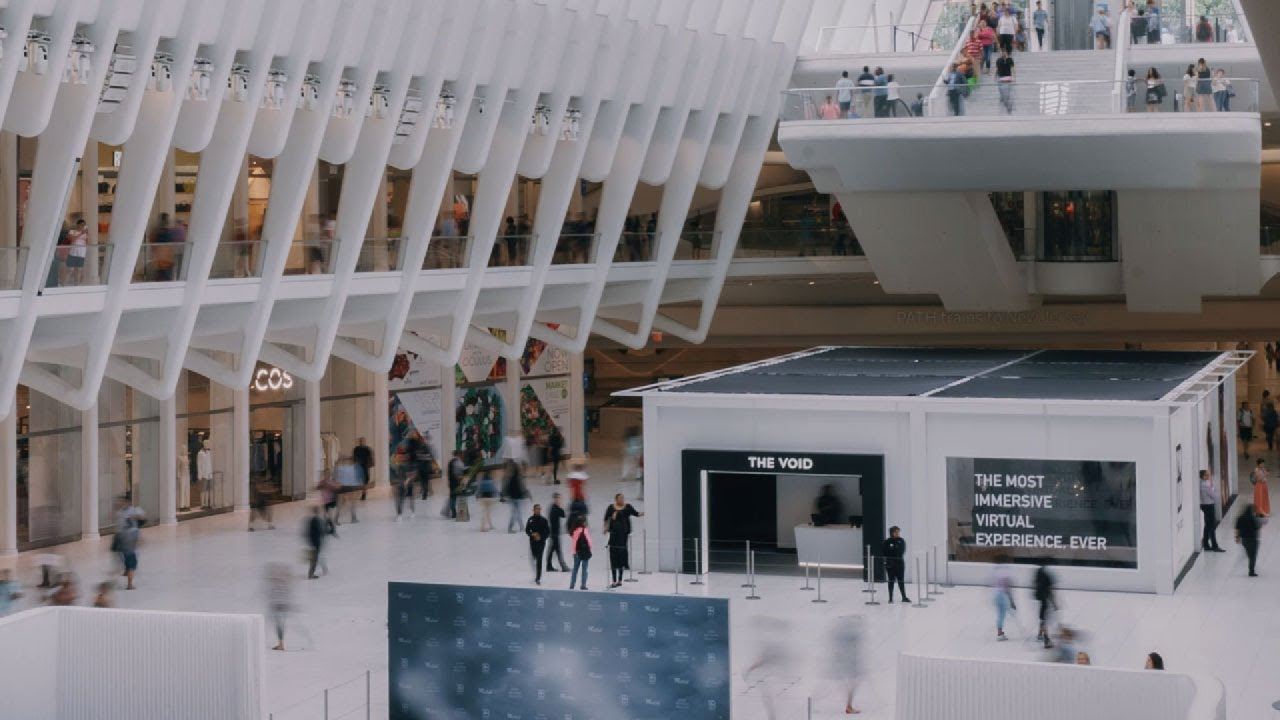 The VOID VR NYC Pop-Up in the Oculus at Westfield World Trade Center