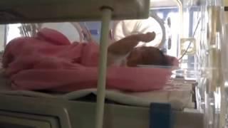 Bayi baru lahir Khadeeja Nafeesa Azwendra