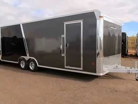 Aluminum Enclosed Trailers For Sale >> New 2017 Cargo Pro Stealth 8x24 Aluminum Enclosed Trailer Colorado Trailers Inc. - YouTube