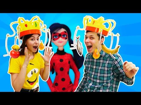 Видео приколы – Челлендж Сумасшедшая Корона с Леди Баг! – Новые игры для девочек.