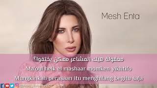 Gambar cover Dalem banget lagu arab Mesh Enta - Nancy Ajram [Terjemahan Bahasa Indonesia]