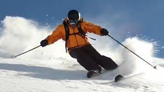 Урок 26 - ★Фрирайд★ Как одеть горные лыжи в глубоком снегу
