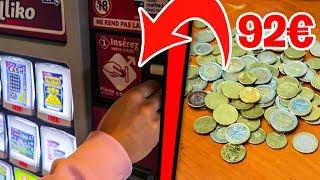 J'ACHÈTE DES TICKETS À GRATTER AVEC 92€ DE PIÈCES ! Ft Michou