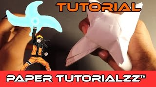 How To Make a Paper Rasengan/Rasen-Shuriken (Tutorial)