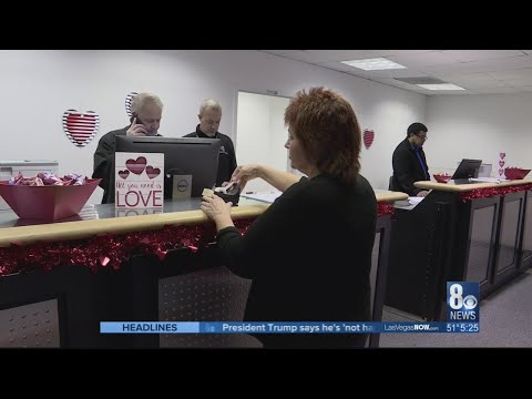 Clark County opens up 'Pop-up Marriage License Bureau' at McCarran Airport
