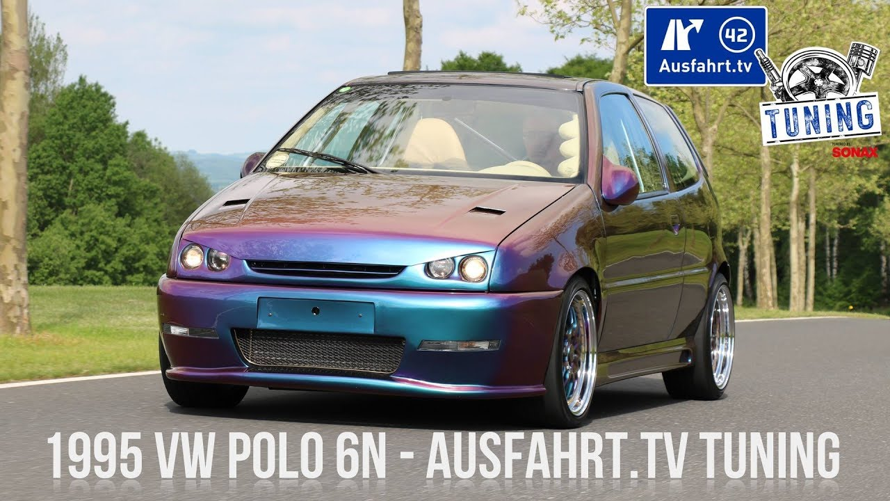 ausfahrt tv tuning folge 10 vw polo 6n extrem tuning. Black Bedroom Furniture Sets. Home Design Ideas
