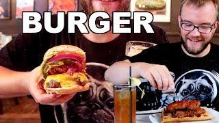 TAK POWINIEN WYGLĄDAĆ BURGER (wg Amerykanów) | GASTRO VLOG #170