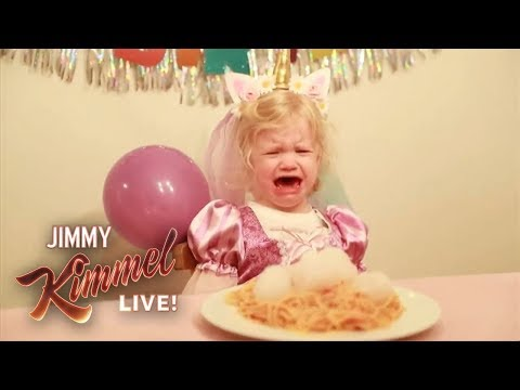 YouTube Challenge – Hey Jimmy Kimmel, I Made Spaghetti and Snowballs