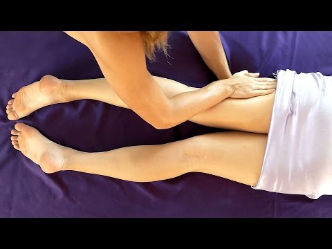Learn Massage Techniques for Leg & Low Back Pain, How to Massage Glutes, Legs for Relaxation