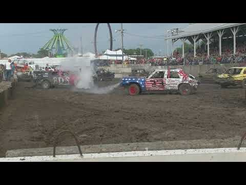 BEGINNERS DEMOLITION DERBY 2017
