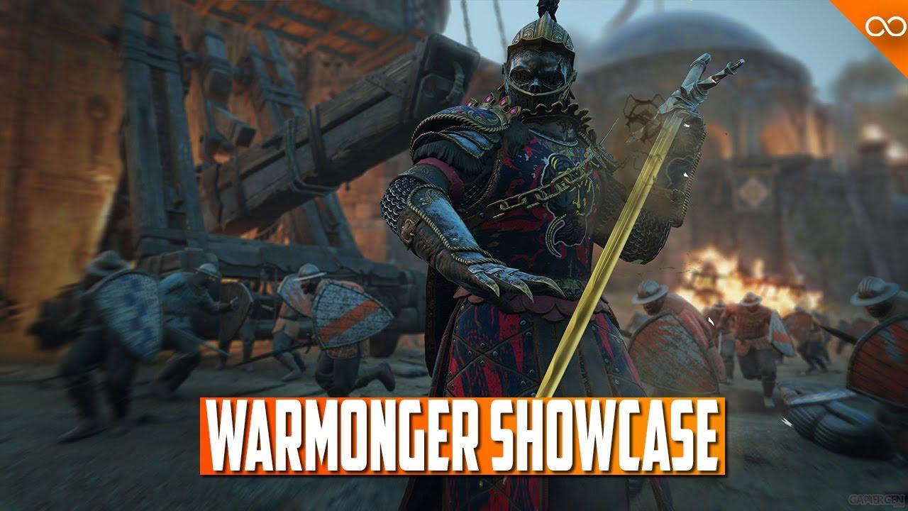 Warmonger Fight Showcase - New Hero Moveset and Feats - Deepdive Stream Showcase