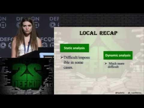 DEF CON 22 - Svetlana Gaivoronski and Ivan Petrov - Shellcodes for ARM