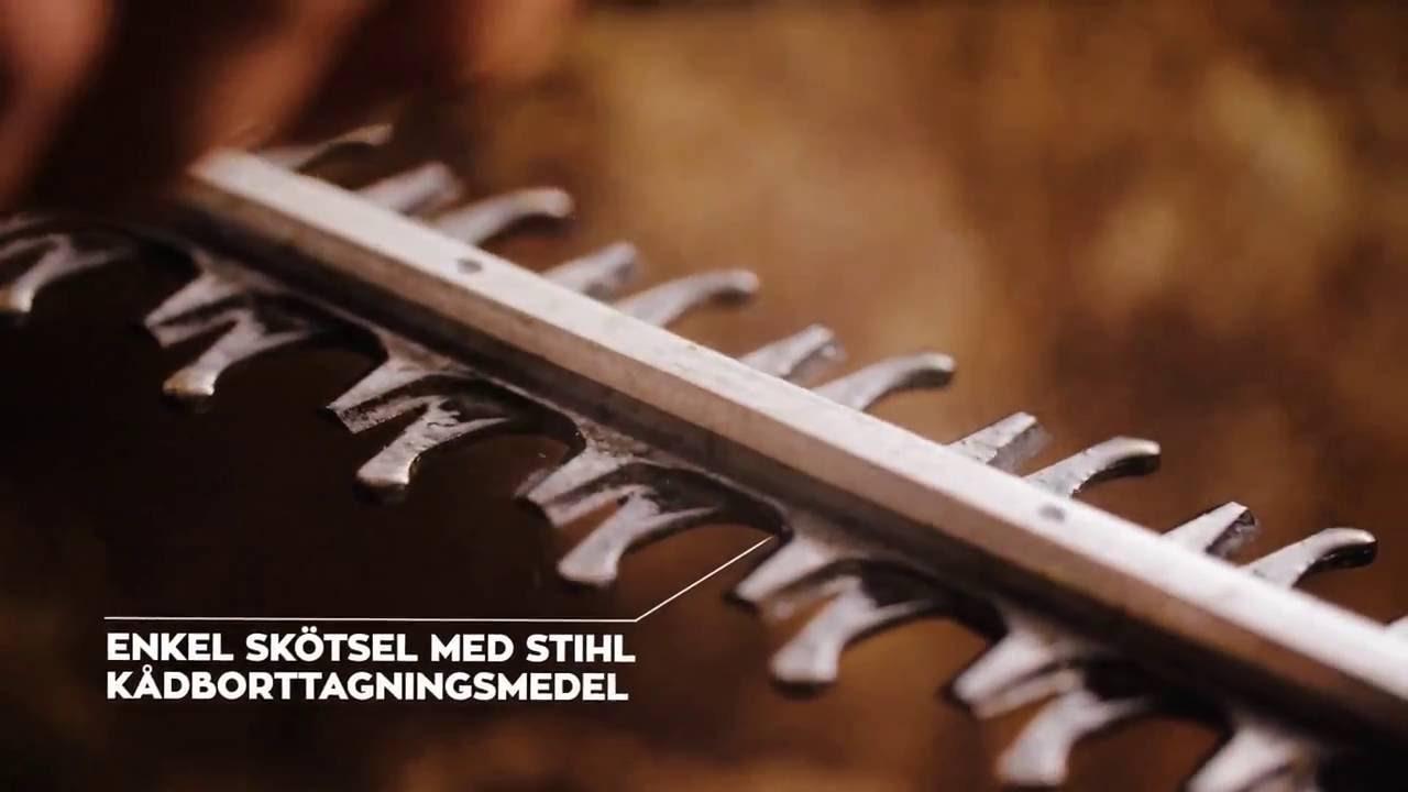 Inredning häcksax test : STIHL batterihäcksax HSA 56 - YouTube
