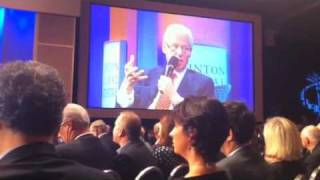 Clinton Global Initiative 9-21-10 ~ Economy