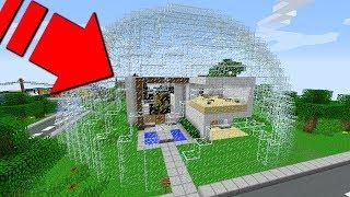 ISMETRG'NİN EVİ CAM KAFESİ İÇİNDE KALDI! 😱 - Minecraft