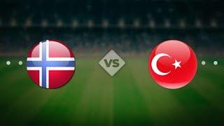 Норвегия Турция 27 03 2021 ЧМ 2022 Европа 2 й тур
