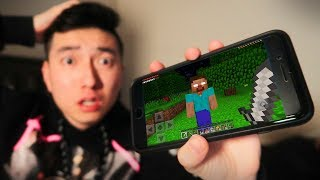 You Should NOT Play Minecraft Pocket Edition at 3:00 AM..