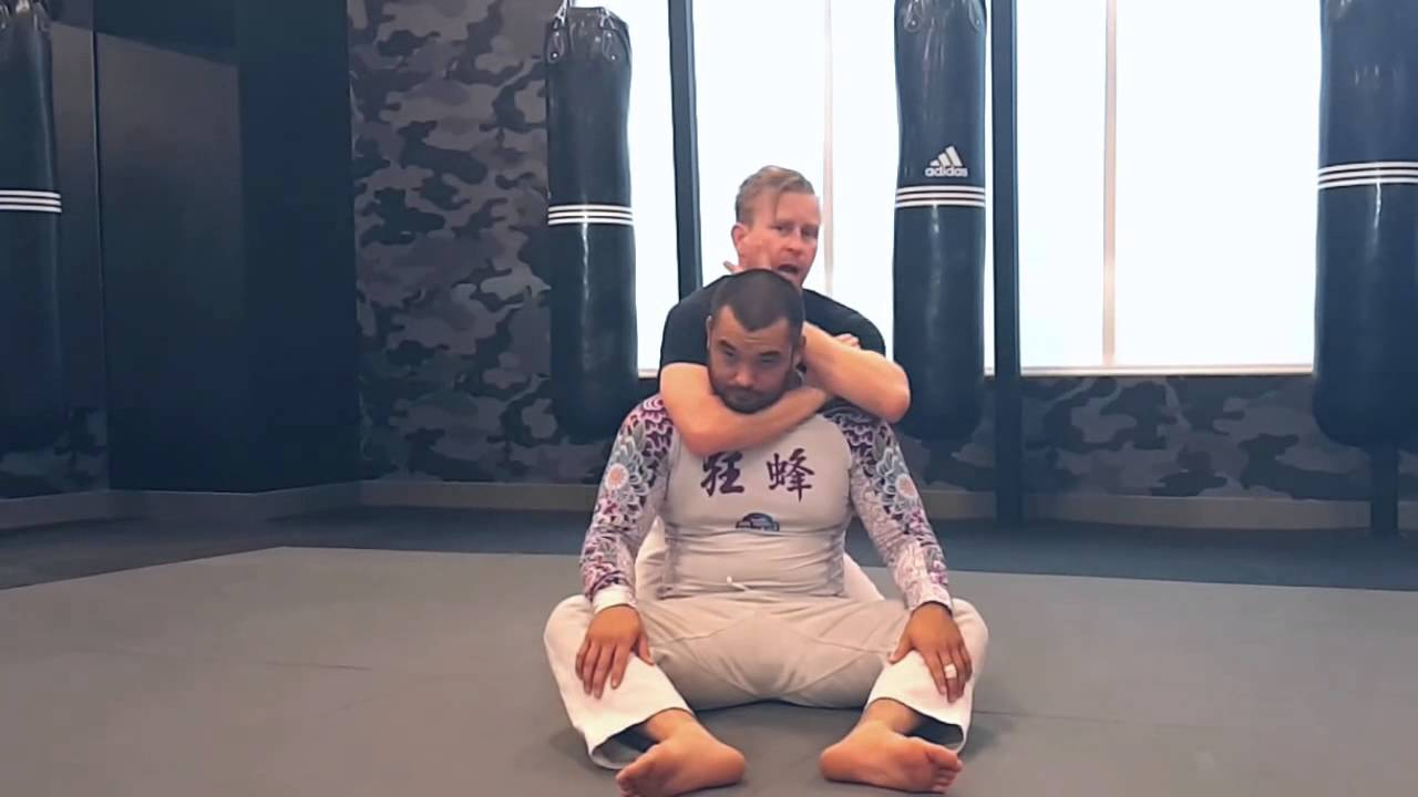 Rear Naked Choke Details With Black Belt Jack Taufer - Youtube-4003