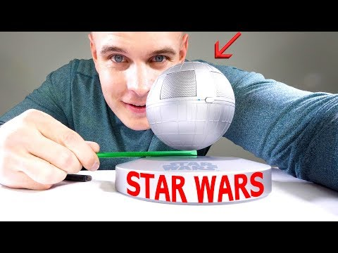 How does this DEATH STAR speaker FLOAT!?