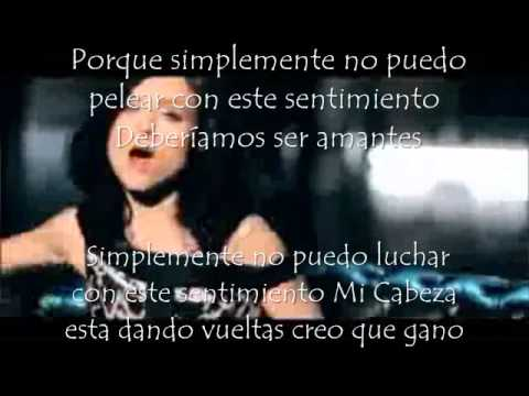 Sophie ellis bextor -Can't fight this feeling Subtitulado al español