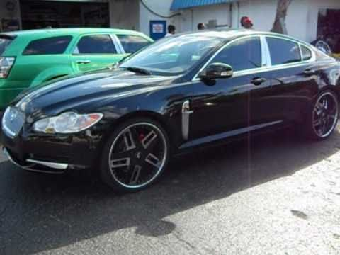 2010 Jaguar Xf On 22 Quot Forgiatos Arctic Customs Youtube