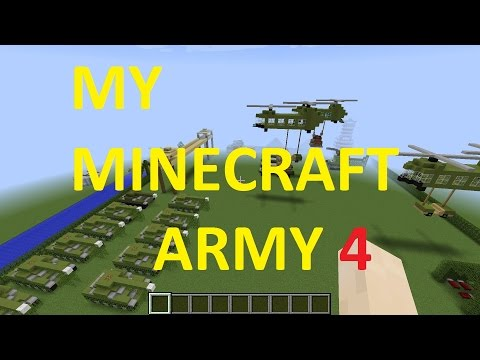 My Minecraft Army 4 | (Save Game in Dis)