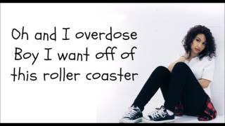 """Alessia Cara """"Overdose"""" (lyrics)"""