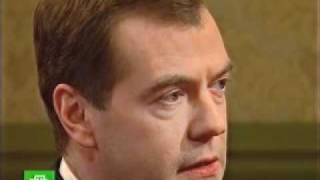 Президент России беседует с Татьяной Митковой на НТВ